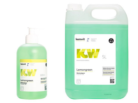 Nestesaippua KW Lemongreen